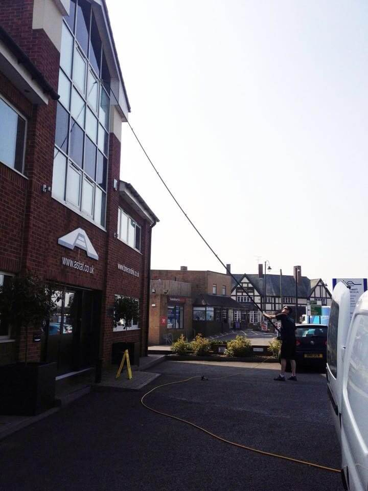 Commercial Window Cleaning In Wolverhampton Supashine