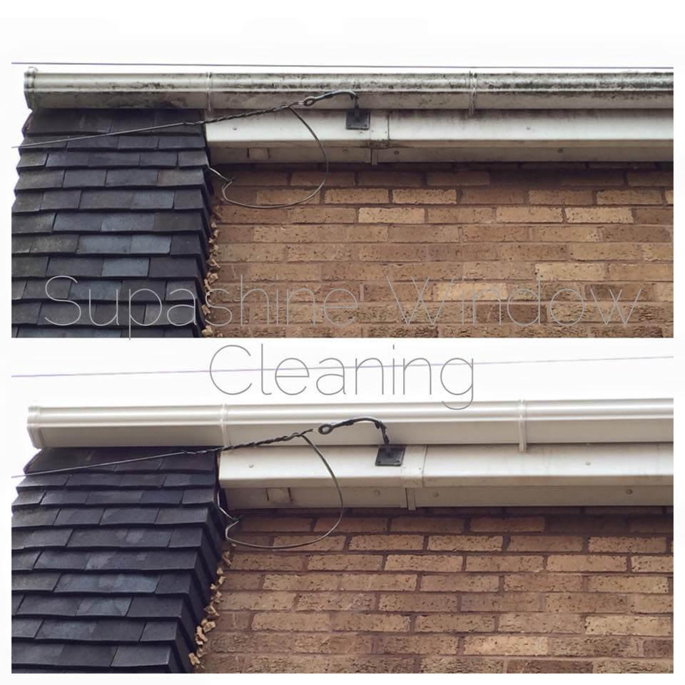 Gutter Fascias Soffits Wash Supashine Window Cleaning