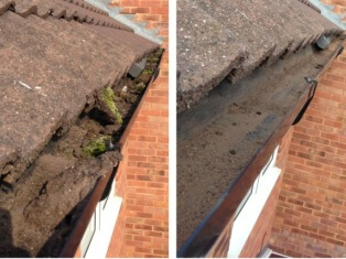 Gutter clear outs in Wolverhampton
